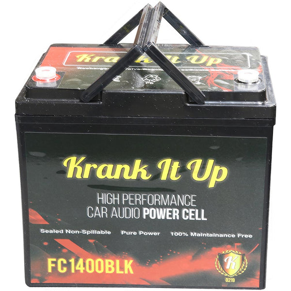 KRANK IT UP POWER CELL 1500 AMPS 12 VOLT; 60 Ah