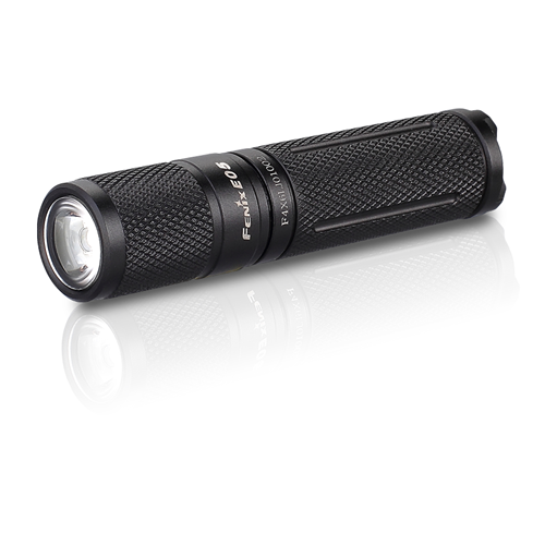 E Series flashlight (E05) 85 Lumens- black