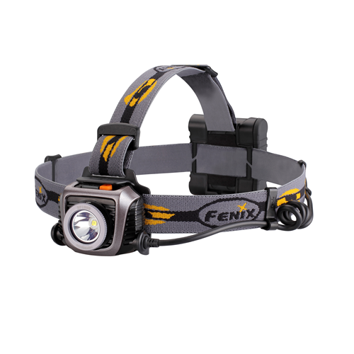 HP Series 900 Lumens Headlamp- Grey w/battery