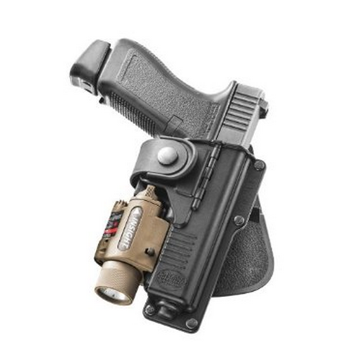 Tactical Glock 17,22,31 with Laser or Light, hinged for natural draw