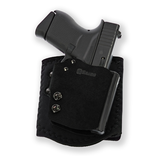 Combining some of the best features of the perennially popular Ankle Glove™ and the ultra-modern BlakGuard™ belt holster, the Ankle Guard is a huge step forward in ankle carry.
