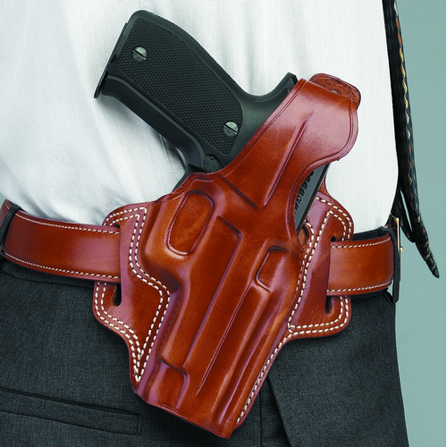 FLETCH HIGH RIDE BELT HOLSTER Color: Tan Gun Fit: Colt King Cobra (4  bbl) Hand: Right