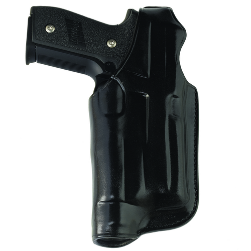 HALO BELT HOLSTER Color: Black Gun Fit: Kimber 1911 w/ Rail (5  bbl) Hand: Right