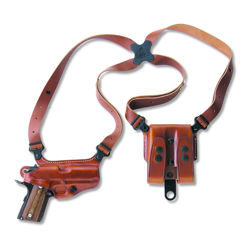 MIAMI CLASSIC SHOULDER SYSTEM Color: Tan Gun Fit: Beretta 92F/FS Hand: Right