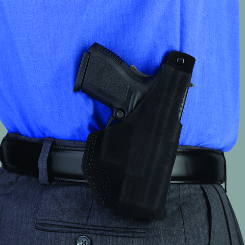 Paddle Lite Holster Color: Black Gun Fit: Charter Arms Bulldog .44 (2.5  bbl) Hand: Right