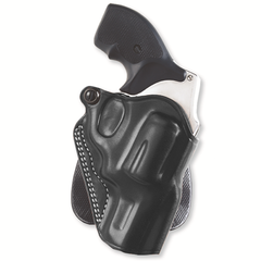 Speed Paddle Holster Color: Black Gun Fit: Smith & Wesson 19 (2.5  bbl) Hand: Right