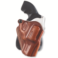 Speed Paddle Holster Color: Tan Gun Fit: Smith & Wesson 19 (2.5  bbl) Hand: Left