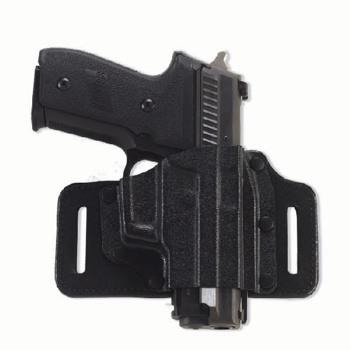Tac Slide Belt Holster Color: Black Gun Fit: AMT Hardballer Hand: Right