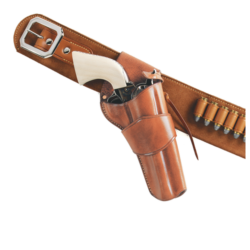 1880'S HOLSTER CROSSDRAW Color: Tan Gun Fit: Colt SAA .357 (4.75  bbl) Hand: Right