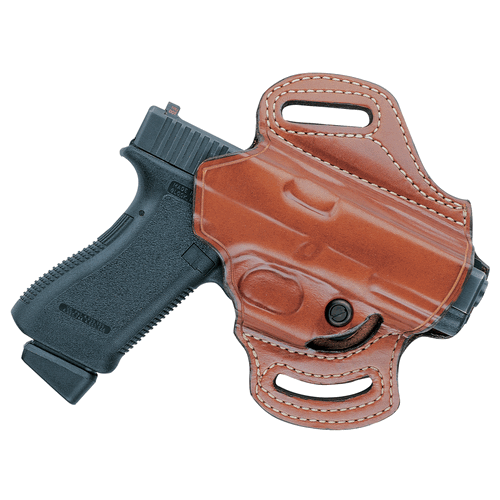 168A Flatsider XR13 Strapless Open Top Holster Color: Black Gun: Glock 19 Hand: Right
