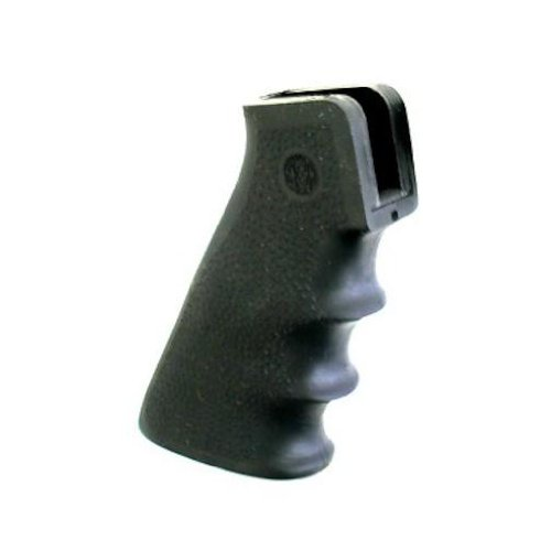 AR-15/M-16 GRIP W/ GROOVES BLK