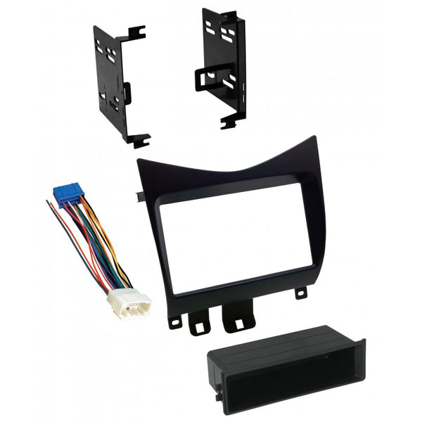 AI Installation Kit for 2003 - 2007 Honda Accord in satin black
