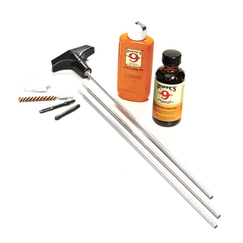 Hoppe's - Cleaning Kit Gun Fit: .22, .222, .223, .224, .225, .243, .25, .25-06, .257 Packaging: Box