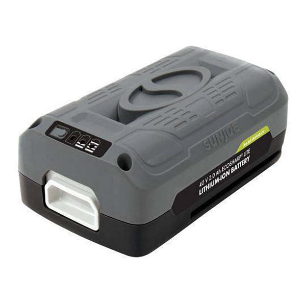 Snow Joe iONMAX EcoSharp LITE Lithium Ion Battery 40 Volt 2.0 Ah