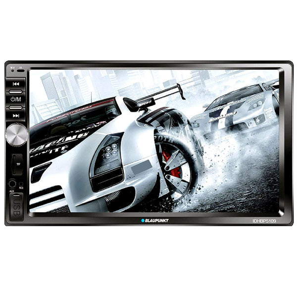 "Blaupunkt Idaho Double-Din 7"" Mechless Bluetooth Receiver with MirrorLink"
