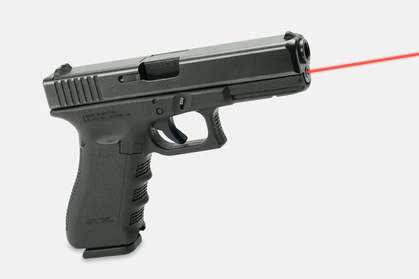LaserMax Guide Rod Laser Red For use on Glock 17L/24/34/35 (Gen 1-3)