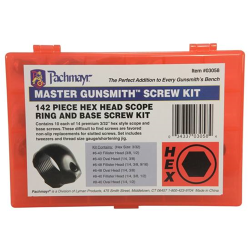 Master Gunsmith Hex Head Screw Kit
