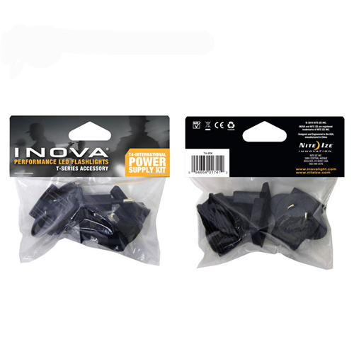 INOVA T4 - International Plug Kit