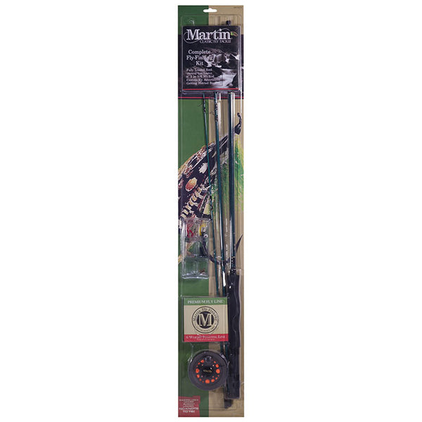 ZEBCO *ZS087* MARTIN COMPLETE FLY FISHING KIT W/6#