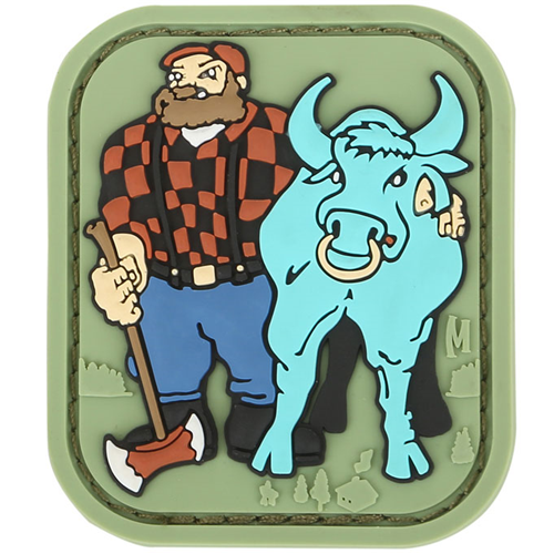 Paul Bunyan 1.7  x 2.0  (Full Color)