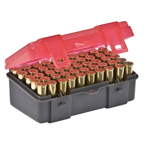 Handgun Ammo Case holds 50 rounds of .357 Mag, .38 Special and .38 S&W Caliber Bullets