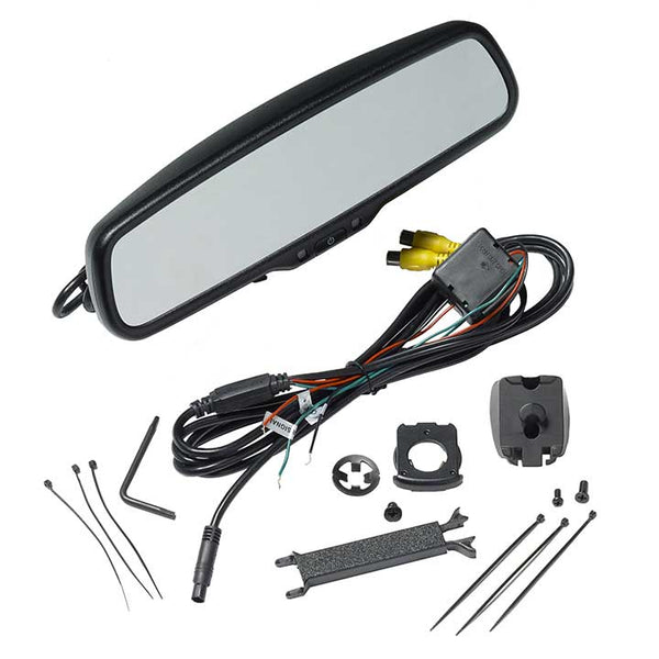 Audiovox RVM200PKG 4.3 Display Replacement Rear View Mirror