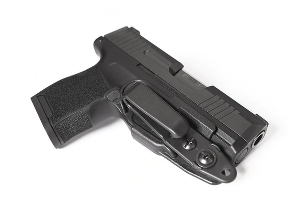 The VanGuard 2 is a minimalist IWB holster. Unlike traditional IWB holsters, the VG2 covers only the trigger guard of your weapon. This unique design eliminates the bulk of a traditional holster, while providing a level of safety and security not attainab