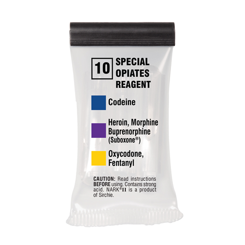 Sirchie - NARKII™ Test 10-Special Opiates Reagent (Mecke)/ Box of 10