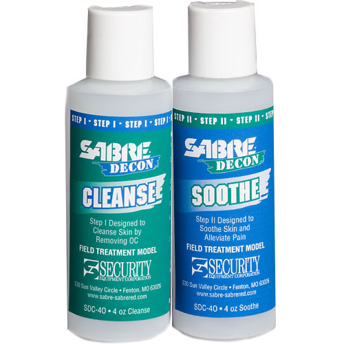 SABRE DECON Cleanse & Soothe (4 oz - Field Treatment Models) 12 each
