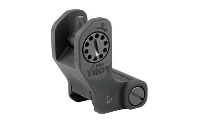 TROY FIXED REAR BATTLE SIGHT BLK