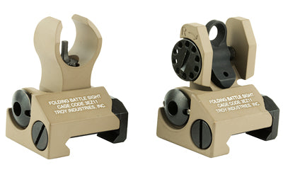 TROY BATTLESIGHT MICRO FRNT/REAR FDE