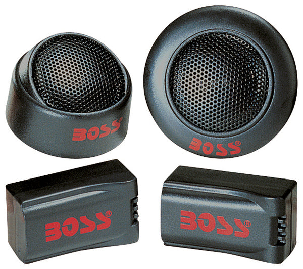 "Boss *TW15* 250W 1"" Micro-Dome Tweeter w/ x-over (sold as pair)"