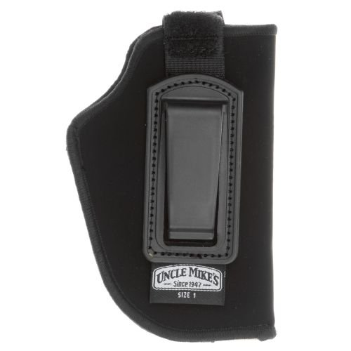Uncle Mike's - Inside-the-Pant Retention Strap Holster Gun Fit: 2  - 3  Barrel Small/Medium Double Action Revolver Except 2  5-Shot Hand: Right