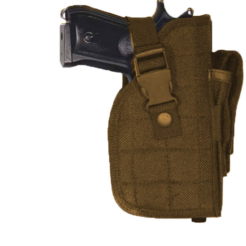 Large Frame Adjustable Hip Holster Color: Coyote