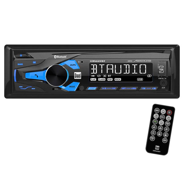 Dual Single Din Mechless Bluetooth USB Digital Receiver