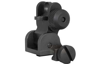 YHM FLIP REAR SIGHT BLK