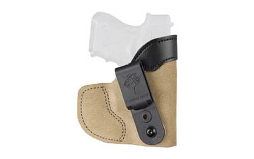 DeSantis Pocket-Tuk GLOCK 43 Pocket/Inside Waistband Holster Right Hand Suede Le
