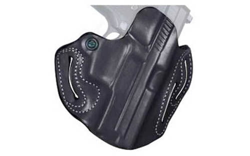 DeSantis 002 GLOCK 19, 23, 32, 36 Speed Scabbard Belt Holster Right Hand Leather