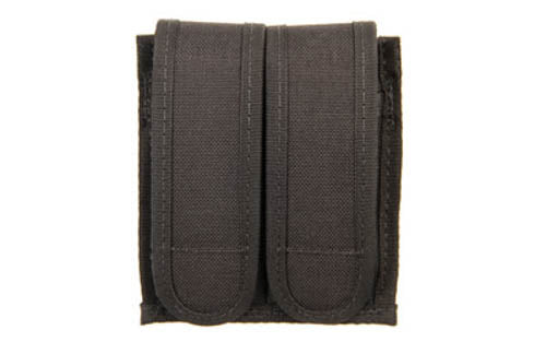 BLACKHAWK! Sportster Double Magazine Case Nylon Black