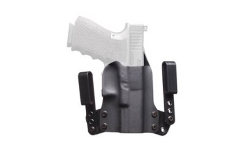 "BlackPoint Mini WING IWB Holster 1911 Compact 3"" Right Hand Leather/Kydex Hybrid"