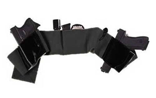 Galco Underwraps Belly Band Holster XL Elastic/Leather Black UWBKXL