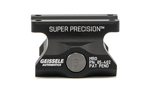 Geissele Super Precision Trijicon MRO Optics Rail Mount Black 05-402B