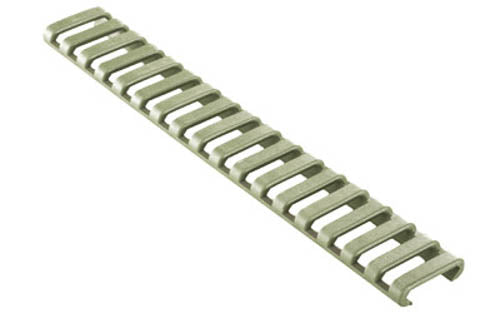 ERGO AR-15 Rail Covers 18 Slot Foliage Green Three Pack 4373-3PK-FG