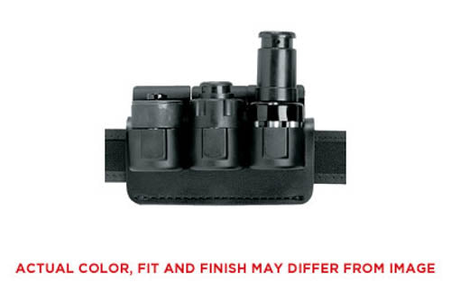 Safariland Competition Triple Speedloader Holder, Plain Black