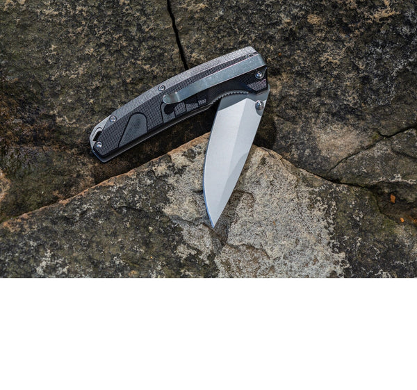 Smith Rally Black Tactical Knife