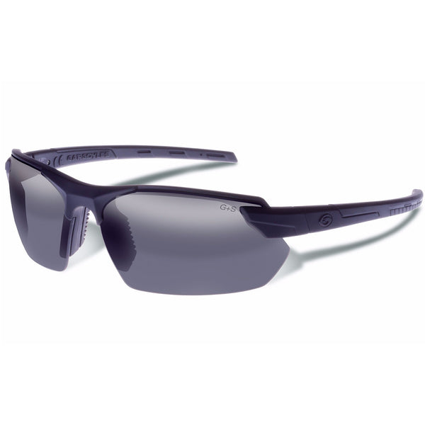 Gargoyles Vortex Performance Sunglasses Clear Lens Blk Frame