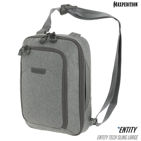 Maxpedition ENTITY Tech Sling Bag Large Ash