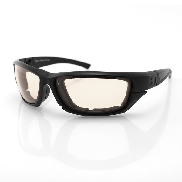 Bobster Decoder 2 Photochromic Eyewear - Matte Black Frames