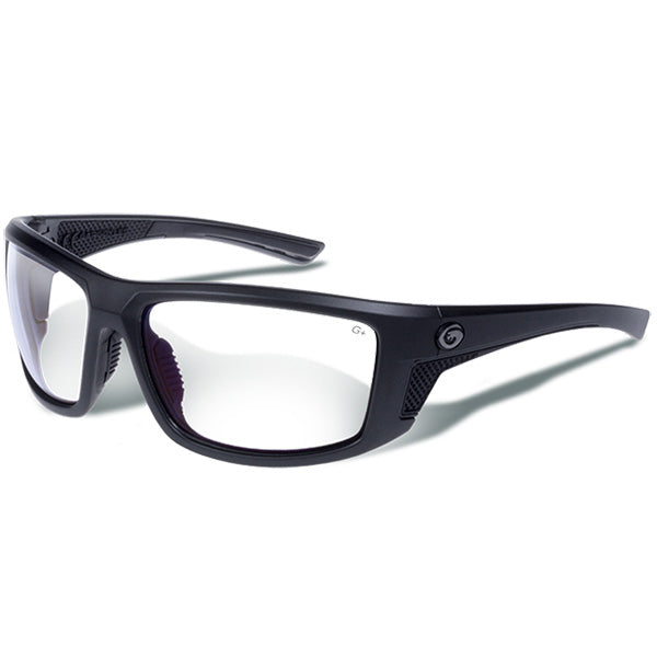 Gargoyles Stance Sunglasses Matte Metallic Graphite/Clear
