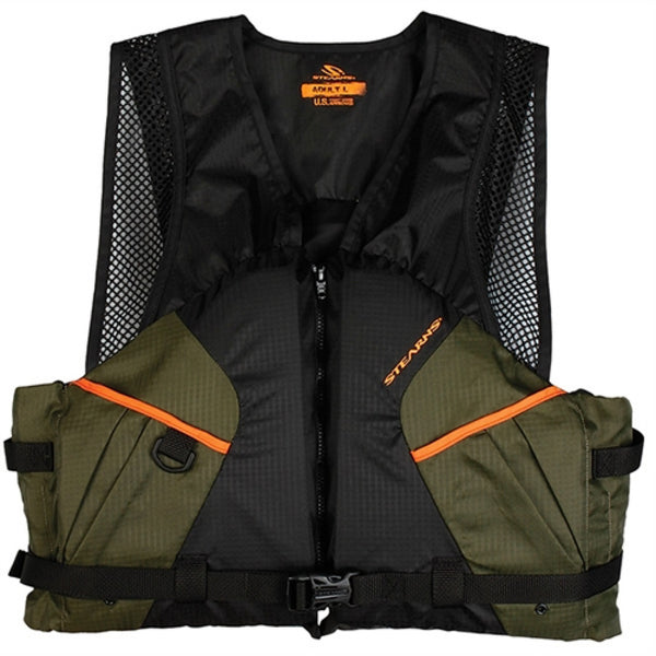 Stearns Pfd 2220 Cmft Fishing Xl Grn C004 2000013803